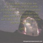 Frases sobre meditación